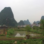 Yangshuo backyard
