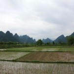 countryside around Yangshuo