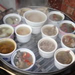 hot soups on a cold morning