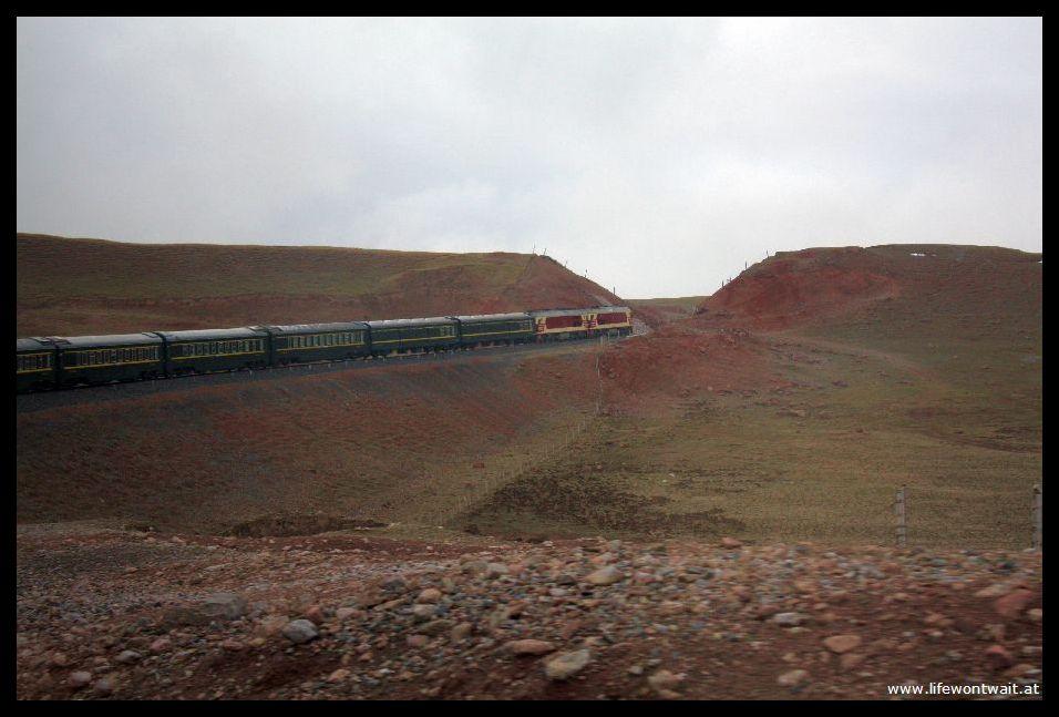 the tibet train